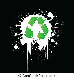 environmental recycling icon