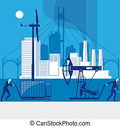 Environmental safety concept vector illustration