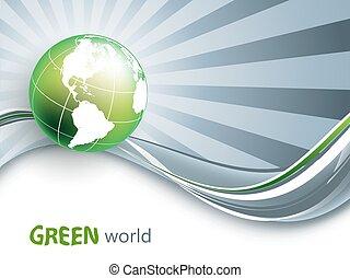 environmental vector background