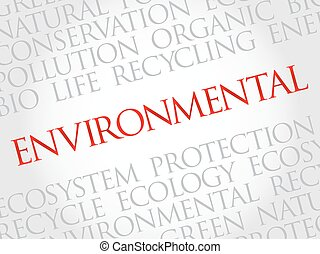 Environmental word cloud