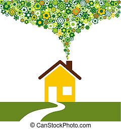 environmentally εξυπηρετικός , σπίτι