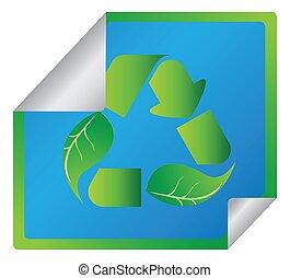 environmentally εξυπηρετικός , σύμβολο