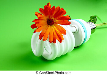 Environmentally friendly - Economic light bulb,...