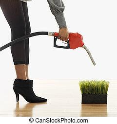 Environmentally friendly fuel concept