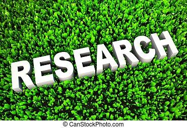 environnement, amical, recherche