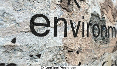 environnement, geunge, concept