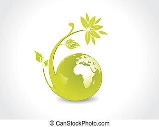 environnement, globe