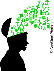 environnement, vert, esprit