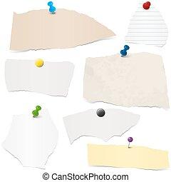 envoyer à la casse, papier, collection