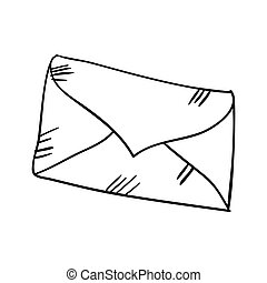 envoyer enveloppe, lettre