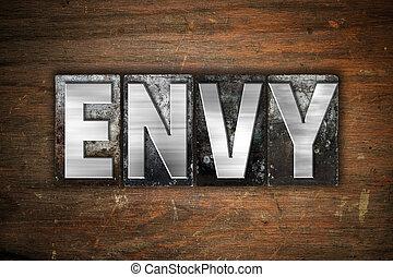 Envy Concept Metal Letterpress Type