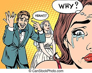 Envy man woman wedding love