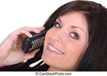 eny mluvil oproti telefonovat