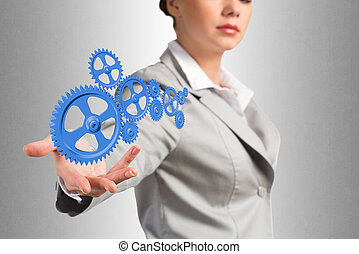 eny povolání, podpora, up, mechanismus, sloučit