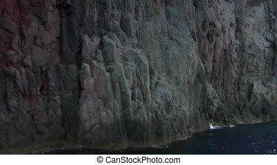 eolian island coast 11 - Mediterranean rocky coast, eolian...