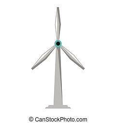 eolic, タービン, エネルギー, 風