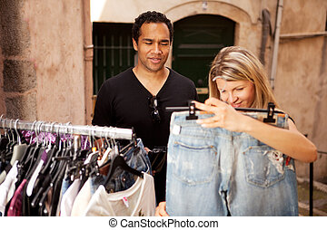 Epensive Clothes Shopping
