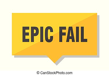 epic fail price tag - epic fail yellow square price tag