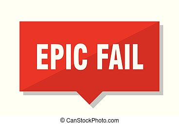 epic fail red tag - epic fail red square price tag