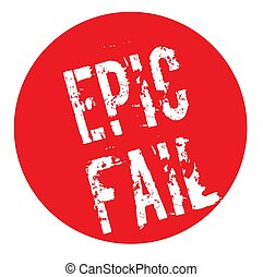 Epic Fail stamp typ