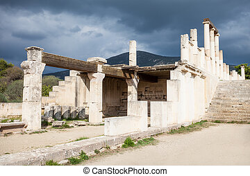 epidaurus, abaton, grecja