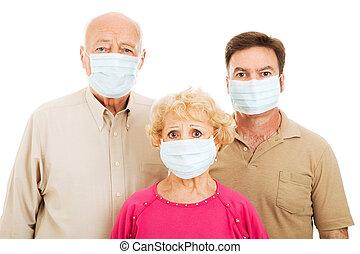 epidemia, medico