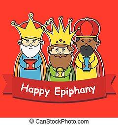 epifania, feliz
