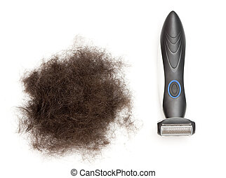 epilator man - a male hair removal machine