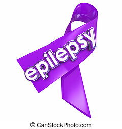 Epilepsy Purple Lavender Ribbon Cure Treat Health Care -...