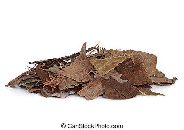 Epimedium Herb - Epimedium herb leaves used in traditional...