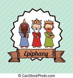 epiphany design , vector illustration
