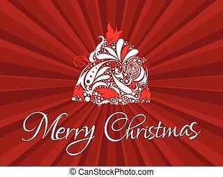 .eps, 抽象的, 木, 芸術的, クリスマス