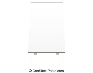 board silhouette on white background