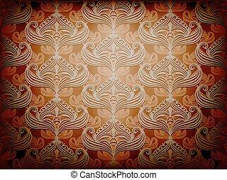 vector seamless retro background