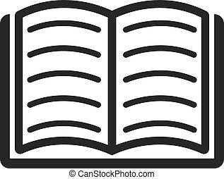 eps., afbeelding, vector, flat., image., boek, graphic., web., symbool., bibliotheek, jpg., app., ai., object., icon., design., logo., teken., art.