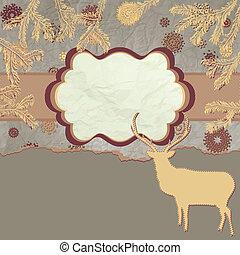eps, deers, time., 8, クリスマスカード