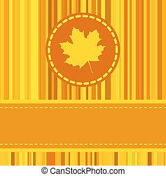eps, herfst, achtergrond., warme, retro, 8