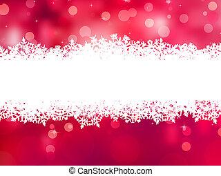 eps, space., achtergrond, 8, kopie, kerstmis, rood