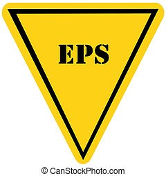 EPS Triangle Sign