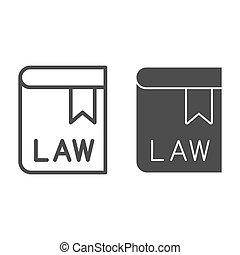 eps, vector, pictogram, pocketbook, boek, web, lijn, ...
