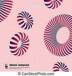 eps10, カラフルである, 抽象的, イラスト, バックグラウンド。, 形, ベクトル, 3d