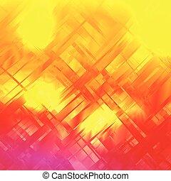 eps10, 鮮やか, 抽象的, glitch, ベクトル, 背景, design.