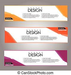 eps10, abbildung, hintergrund., vektor, design, banner