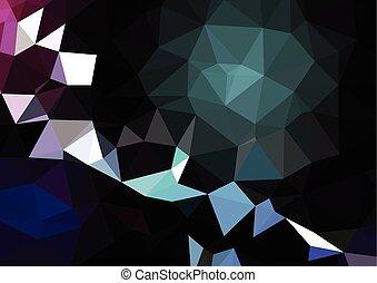 eps10, abstrakcyjny, -, wektor, tło, kasownik, mozaika