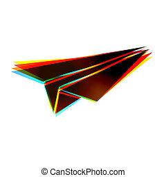 eps10, abstrakt, bakgrund., vektor, vit, ikon