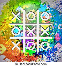 eps10, coloridos, abstratos, experiência., vetorial, icon.
