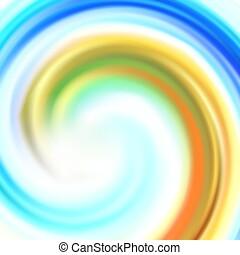 eps10, coloridos, abstratos, ilustração, vetorial, fundo, círculo