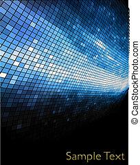 eps10, créatif, arrière-plan., vecteur, technologie, géométrique