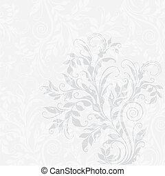 EPS10 decorative floral background - Elegant decorative...