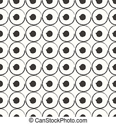 Eps10 file. Seamless retro geometric pattern